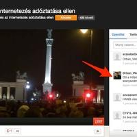 Orbán Viktor is nézi a műsort és KOMMENTEL! :D