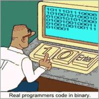 Az igazi programozók így nyomják!