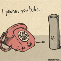 I phone, You tube