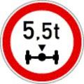 A járművek forgalmát tiltó vagy korlátozó jelzőtáblák - 4. rész