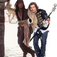 Jack Sparrow a fedélzeten!