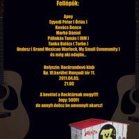 Koncert a Rocktár megmentéséért!!!