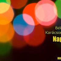 Boldog Karácsonyt Kíván A Napi Music!