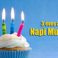 Három éves lett a Napi Music!!!
