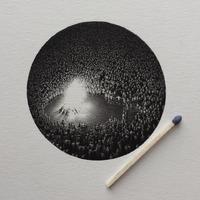 Bámulatosan részletes miniatűr ceruzarajzok
