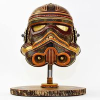 Steampunk Star Wars szobrok