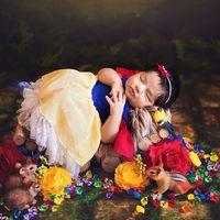Babák mint pici Disney-hercegnők