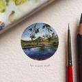 Gyönyörű miniatűr festmények