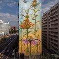 Hihetetlen virágos falfestmények