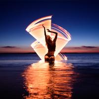 Varázslatos fény-festett képek