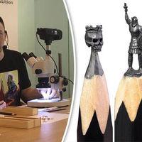 Trónok harca ihlette grafithegy szobrok