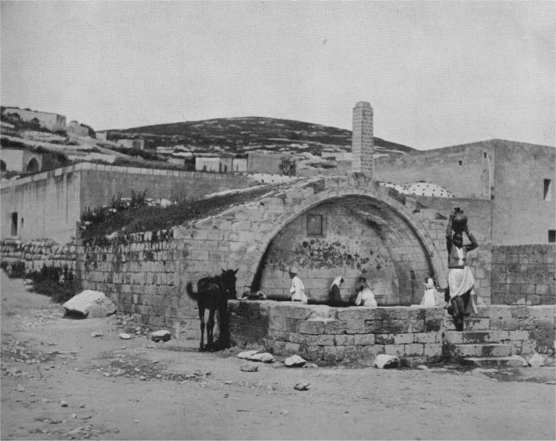 Nazareth-The Fountain of the Virgin-1894.jpg