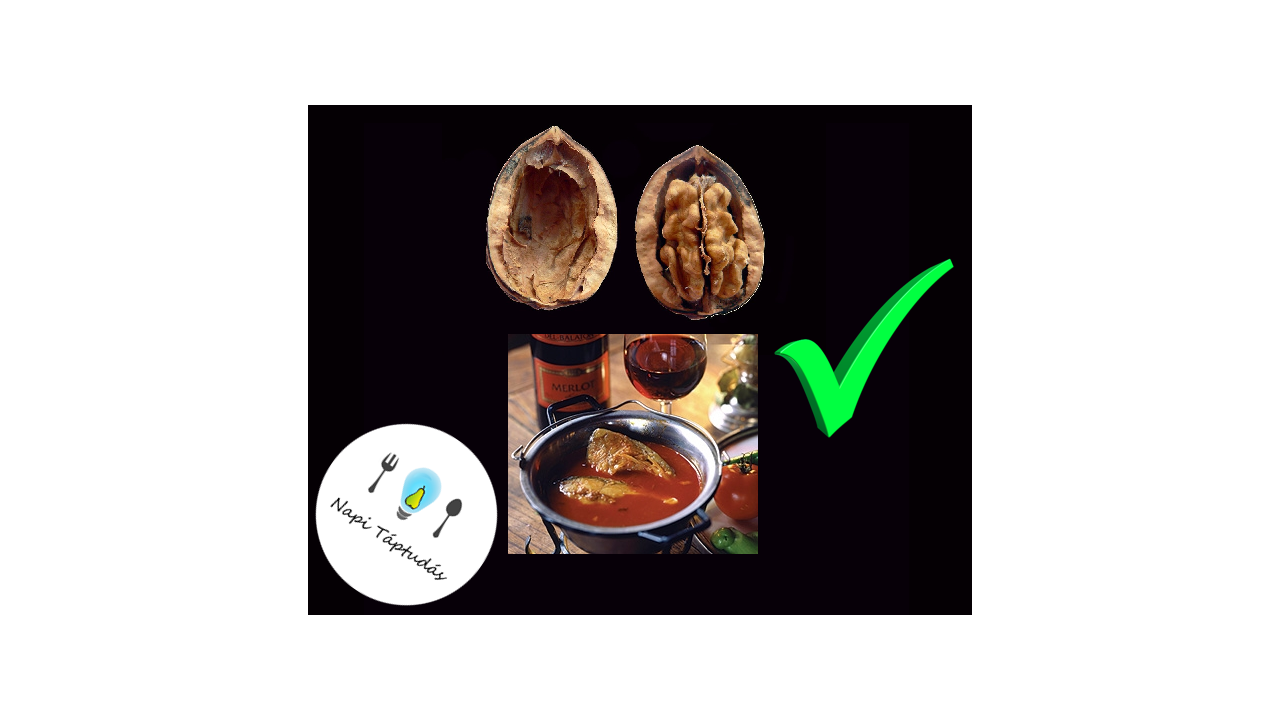 Ponty és dió: omega-3 zsírsavak a Kárpát-medencéből