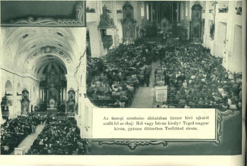 A zarándoklatot megnyitó ünnepi szentmise