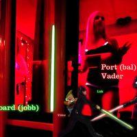 Zöld és piros fény a hajókon