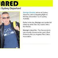 Clooney partra száll