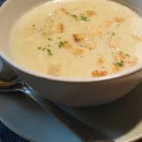 Fehérrépa krém leves