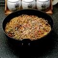 Wokos sült tészta gyömbérrel, ropogós zöldségekkel