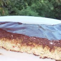 Csokis-kókuszos pite