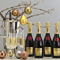 Yaşasın! Éljen az új év, éljenek a buborékok!