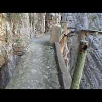 El Caminito del Rey - Egy lépésre a haláltól