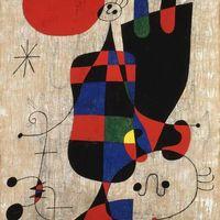 Átfogó Miró kiállítás Bécsben