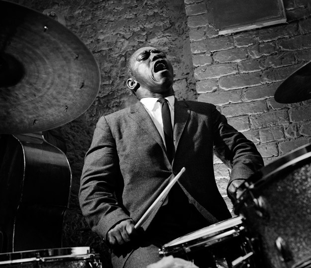 Art Blakey Paris, 1958 © Herman Leonard