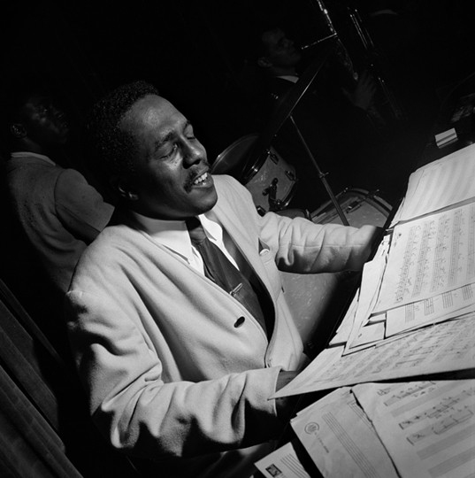 Bud Powell Birdland, New York , 1949 © Herman Leonard