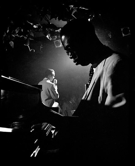 Tadd Dameron, Billy Eckstine New York , 1948 © Herman Leonard