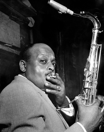 Ben Webster Birdland, New York , 1950 © Herman Leonard