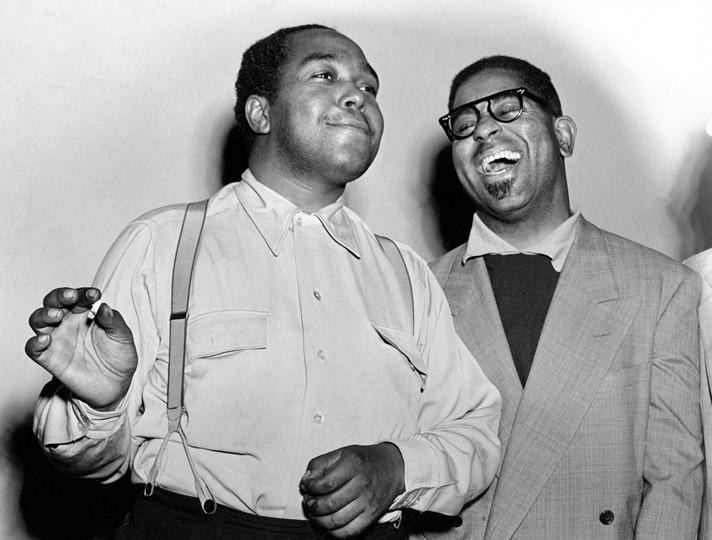 Dizzy Gillespie, Charlie Parker New York , 1949 © Herman Leonard
