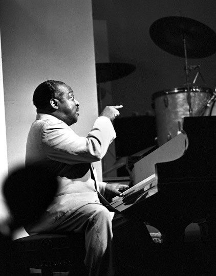 Count Basie Newport Jazz Festival , 1955 © Herman Leonard