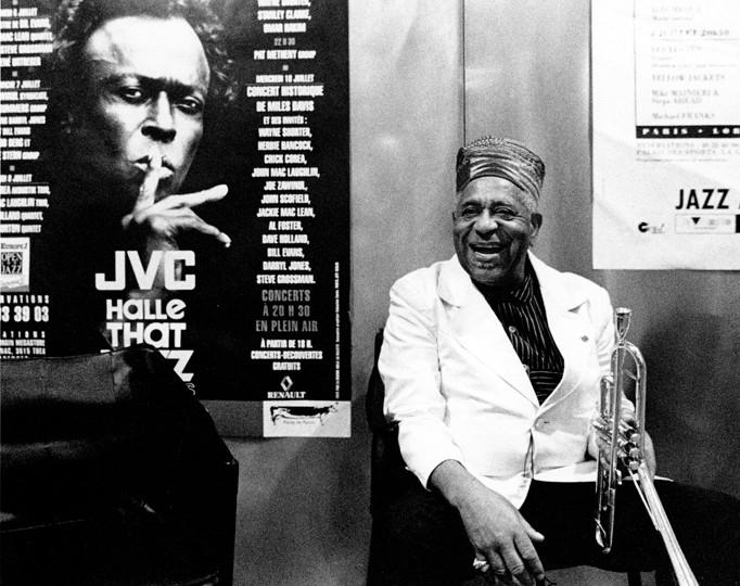 Dizzy Gillespie Paris , 1991 © Herman Leonard