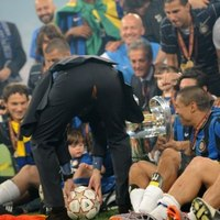 José Mourinho:) Örömében...
