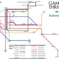 A trónok harca metro térképe
