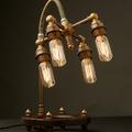 steampunk lámpák