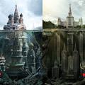 Titikzatos épületek Moszkvában