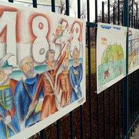 Elcserélt oklevelek és harci seb – ilyen volt a családi március 15. a Teleki téren