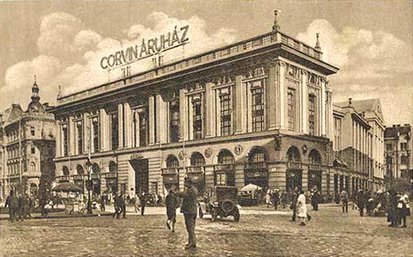 A Corvin az 1930-as években<br />Fotó: egykor.hu