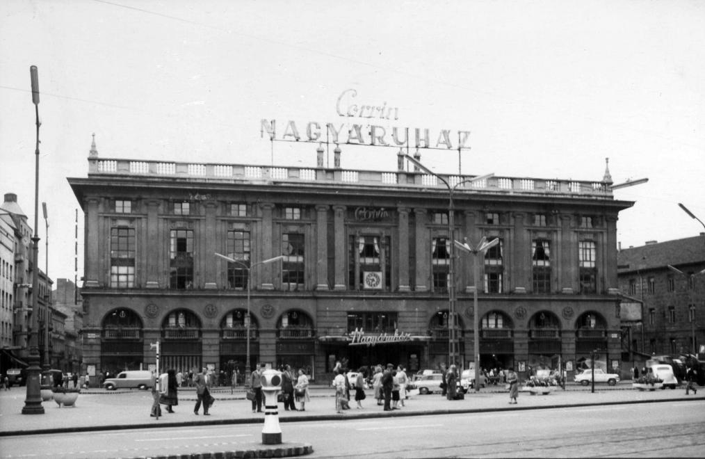 Corvin 1961<br />Fotó: Fortepan / Budapest Főváros Levéltára