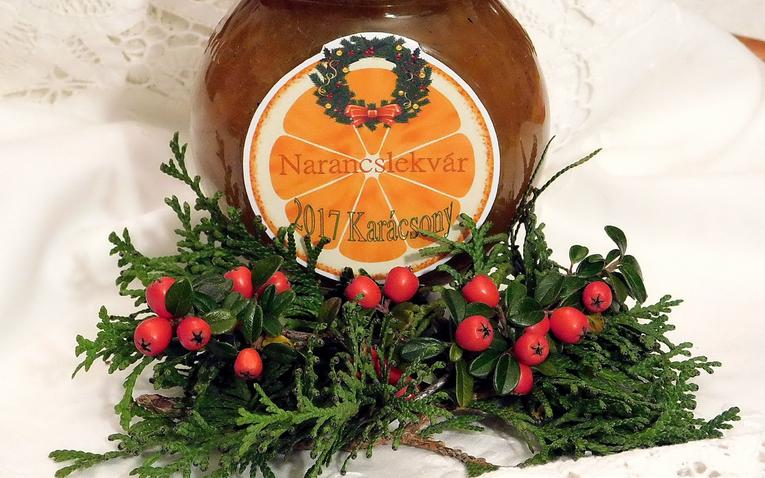 Karácsonyi narancslekvár