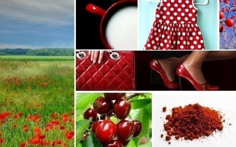 Szín, dinamika - piros