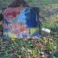 Talált tárgyak-festmény