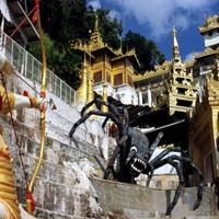 A VILÁG KÖZEPE - 3. fejezet, Buddha Buddhával, sztúpa sztúpával (Burma), 3. (befejező) rész