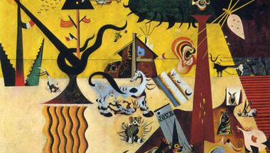 Joan Miró: The Tilled Field