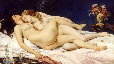 Gustave Courbet - Le Sommeil
