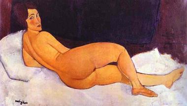 Amedeo Modigliani akt