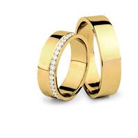 5+1 tipp gyémánttal díszített karikagyűrűkre