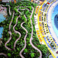Trópusi üdülő központ, Németországban