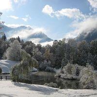 Téli tájkép, Bavaria